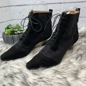 SACHA LONDON Laced Ankle Boots, 9B